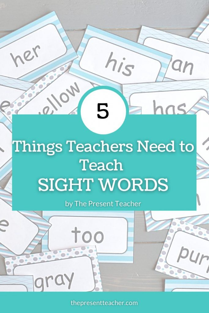 What to Know About Teaching Sight Words