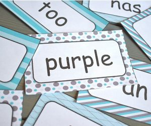 Free Sight Word Flashcards Set @thepresentteacher