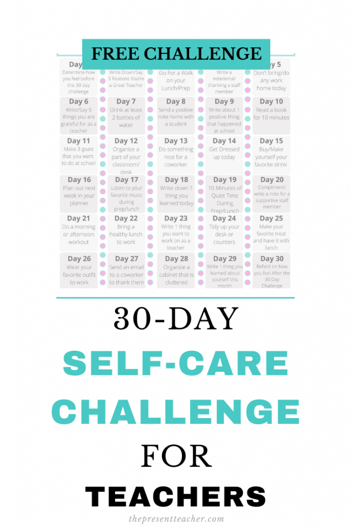 30 Day Challenge Teachers