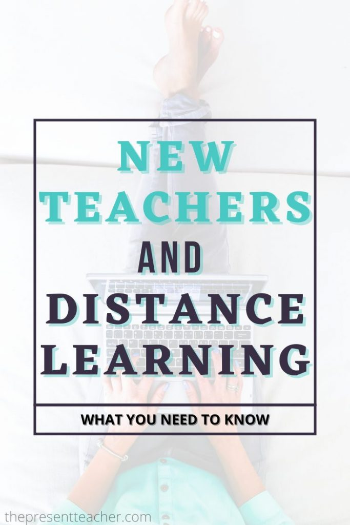 New Teachers and Distance Learning