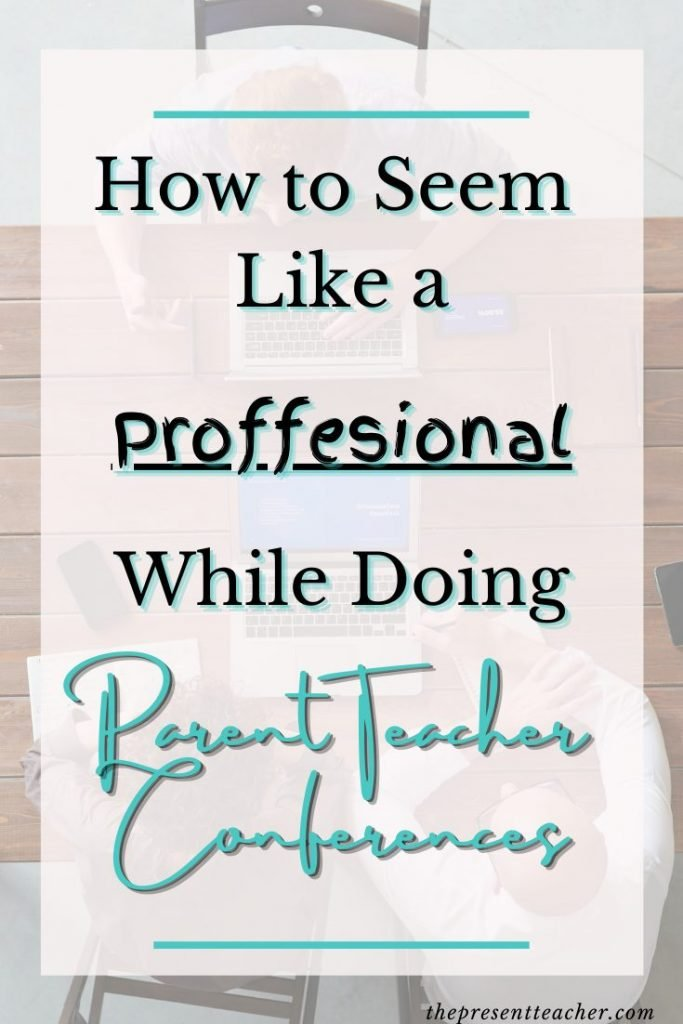 Are you a new Teacher or a teacher who needs some extra tips on Parent Teacher Conferences. In this post I go over step by step what you need to do to seem like a pro when it comes to Parent Teacher Conferences. Click now to read how to not only seem like a natural, but to also get families on your side. @thepresentteacher