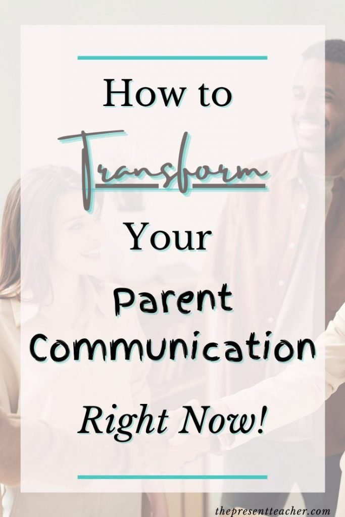 Need tips and tricks to improve your communication with parents as a teacher? Click to read my top Parent Communication hacks that you can impliment right now! @thepresentteacher