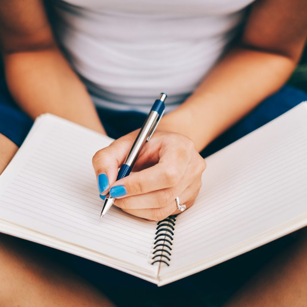 Journaling is also another great summer self-care activities for teachers.